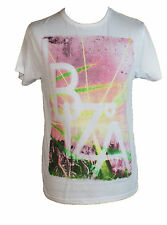 Unsung Hero Mens Ibiza T-Shirt In White/Pink