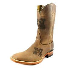 Nocona Missouri Brown Branded Men  Square Toe Leather Brown Western Boot