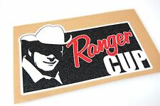 Ranger Cup - Bass Boat Carpet Graphic - Multiple Sizes - Decal Logo
