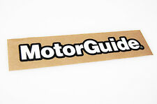 MotorGuide - Bass Boat Carpet Graphic - Multiple Sizes - Decal Logo