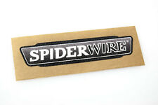 Spider Wire - Bass Boat Carpet Graphic - Multiple Sizes - Decal Logo