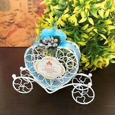 Party Birthday Wedding Cinderella Carriage Candy Chocolate Boxes Favour Craft