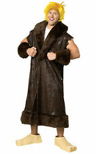 Barney Rubble The Flintstones Caveman Cartoon Deluxe Men Costume