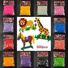 5mm hama perler fuse beads 14Colors 500Pcs iron beads kids diy handmaking toy ca
