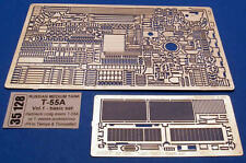 1/35 ABER 35128 UPGRATE SET for SOVIET T55A - for TAMIYA & TRUMPETER KIT PROMOTE