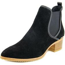 Donald J Pliner Diaz-OL Women  Pointed Toe Suede Black Ankle Boot