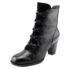 Everybody By BZ Moda Paddone Women  Round Toe Leather Black Ankle Boot