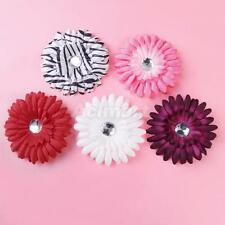 Baby Toddler Girls Rhinestone Daisy Flower Hair Clips for Headband Photography