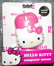 Sanrio Hello Kitty Sculpted Computer Mouse USB Plug And Play