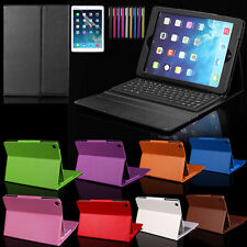 HOT 2in1 Leather Case Cover For iPad Mini 1234 with Wireless Bluetooth Keyboard