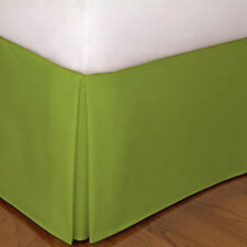 Super Soft 1 Qty Bed Skirt 1000 TC Egyptian Cotton Drop 8-20'' Sage Solid