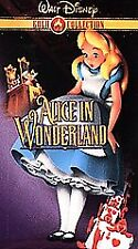 Alice in Wonderland (VHS, 2000, Gold Collection Edition)