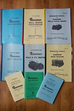 Ransomes MG 2 5 6 40 Tractor Crawler Manual Parts List Diesel Petrol Engine