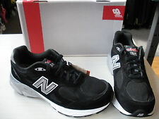 NEW BALANCE MENS 990 RUNNING SHOES - SNEAKERS- BLACK- #M990BK3-2E WIDTH-NEW  NEW