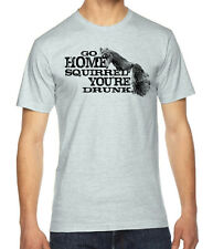 Drunk Squirrel Graphic American Apparel Fine Jersey T-Shirt RC13920