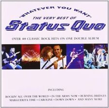 Whatever You Want the Best of Status - Quo Status Compact Disc