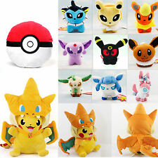 Pokemon Pocket Pikachu Monster Pokedolls Throw Pillow Cushion Toy Plush Doll
