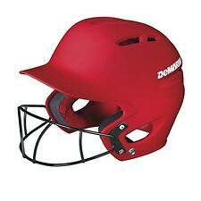 DeMarini Paradox Fitted Pro Batting Helmet with Fastpitch Softball Mask Small (6