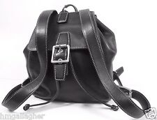 COACH Legacy Leather Daypack/Backpack #9569 Black XLNT  ~ NR ~ FREE SHIP ~ WOW!!