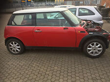2001 Mini Cooper Rolling Shell With Logbook - R51 - Chilli Red - Rally Project