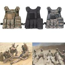 Combat Molle Military Army Tactical Vest Battle Hunting Assault Tank Tops 3Color