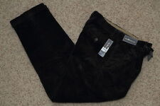 Polo Ralph Lauren Classic Fit Pleated Corduroy Pants Mens' Navy New NWT