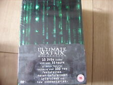 THE MATRIX COLLECTION 10 DISC DVD BOX SET RARE LIMITED SEALED KEANU REEVES EXTRA
