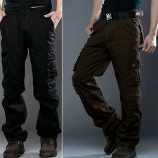 Men's Stylish Casual Cotton Military Army Cargo Combat Pants Camouflage Trousers