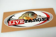 Live Target - Bass Boat Carpet Graphic - Multiple Sizes - Decal Logo
