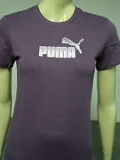 Womens Puma T-Shirt Top Pink Dot Print - Plum Size 12 to 16 WP31