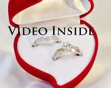 1.38Carat Brilliant Cut Fine Jewelry Rings Engagement Diamond Ring Silver