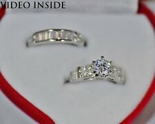 2 Pieces Ring Fine Jewelry Fine Jewelry Sets Diamonds & Gemstones Silver Designs