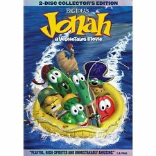 Jonah: A Veggie Tales Movie (DVD, 2003, 2-Disc Set, Two-Disc Set) New W Music CD
