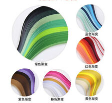 Quilling Paper 120 Stripes DIY Solid Color Origami Paper 3mm Width Hand Craft