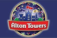 3 Alton Towers Tickets Thursday 15th September 15/09/2016 Actual Tickets