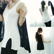 Bottoming T-Shirt Tank Tops Cami Vest Sleeveless Camisole Womens Sexy