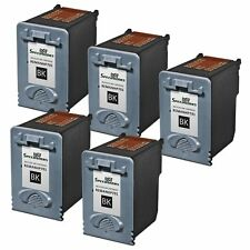 5pk Reman for HP CC635A (HP 701) Black for use in HP FAX 640, FAX 650, FAX 2140
