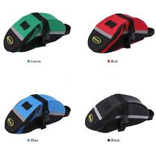 Bike Bicycle Cycling Saddle Rear Seat Bag Pouch For Woman & man Outdoor New E7Z7