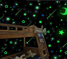 200 Wall Glow In The Dark Stars Stickers Kids Bedroom Nursery Room Ceiling Decor