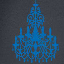 The Decal Guru Ornate Chandelier Wall Decal