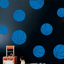 The Decal Guru Basketballs Wall Decal