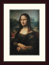 Global Gallery 'Mona Lisa' by Leonardo Da Vinci Framed Painting Print
