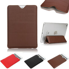 Sleeve Bag PU Leather Carry Case Pouch Stand Holder For iPad 2 3 4 5 6 Mini Air