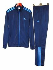 Adidas Pes Polyester Tracksuit Mens Running Gym Fitness