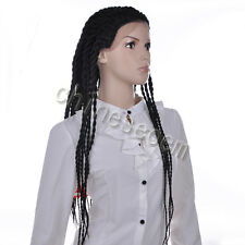 "30"" Box Braid Large Outre X-Pression Hand Braided Lace Front Wig 340g/pack"
