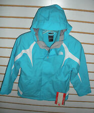 THE NORTH FACE GIRLS -YOUTH MOUNTAIN VIEW TRICLIMATE JACKET-AOD1-TURQ BLUE-S,XL