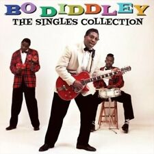 Singles Collection - Diddley,Bo New & Sealed CD-JEWEL CASE Free Shipping