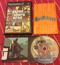 Grand Theft Auto: San Andreas PS2 (Sony PlayStation 2 with Map