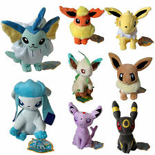 7.09'' Pokemon Collectible Plush Soft Toy Stuffed Doll Teddy Xmas Gift Pokadoll