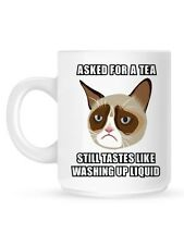 Grumpy Cat Asked For A Tea Mug